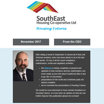 SEHC Newsletter Nov 2017